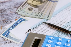 Calculating numbers for income tax