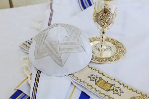 Prayer Shawl Tallit, jewish symbol