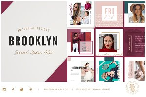 BROOKLYN | Social Media Pack