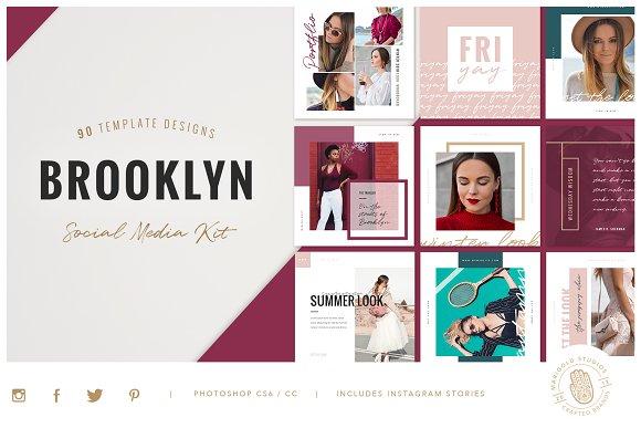 BROOKLYN | Social Media Pack