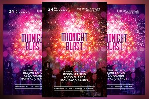 Midnight Blast Flyer