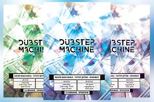 Dubstep Machine Flyer