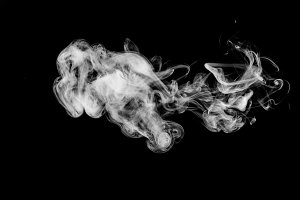 White  cloud smoke
