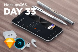 Mockups365: Day 33