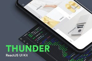 Thunder ReactJs UI Kit