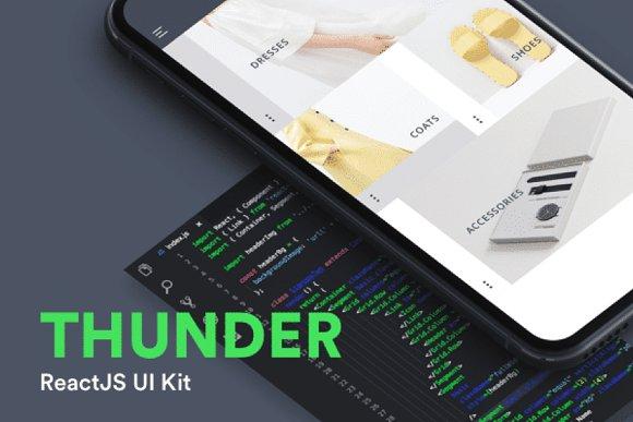 Thunder ReactJs UI Kit