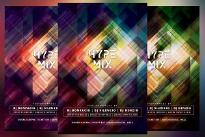 Hype Mix Flyer