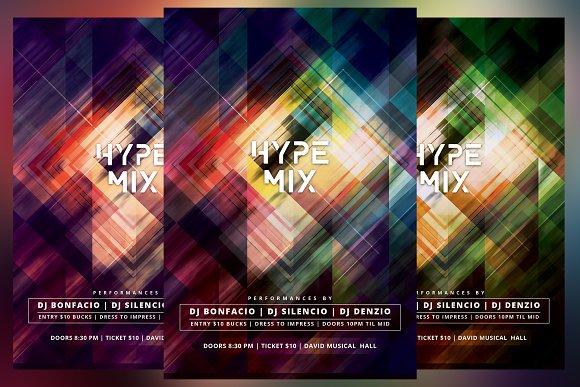 Hype Mix Flyer