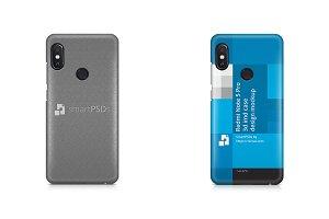 Redmi Note 5 Pro 3d IMD Case Mockup