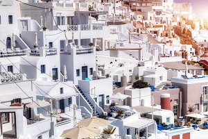 White houses architecture,Santorini