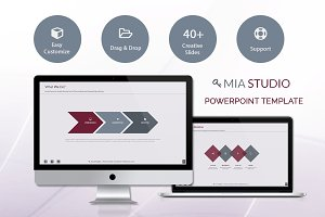Mia Powerpoint Presentation Template