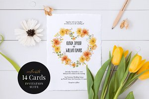 Wedding Invitation Suite, Colorista