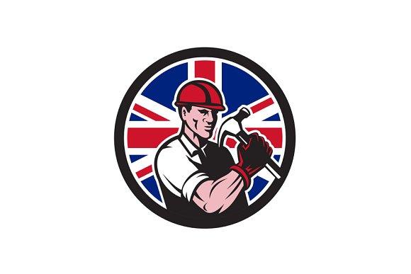 British Handyman Union Jack Flag Ico