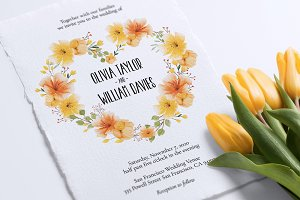 Wedding Invitation, Colorista