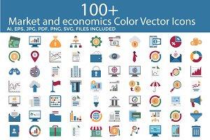 Market and economics Color Vector I