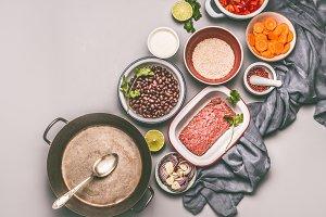 Balanced cooking ingredients