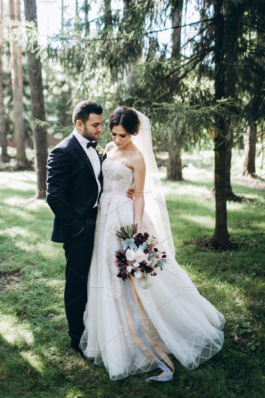 Beautiful & stylish wedding couple