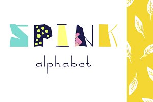Spink alphabet | letters, graphic