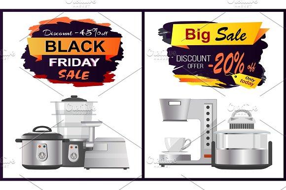 Back Sale Discount Offer Vector Illustration