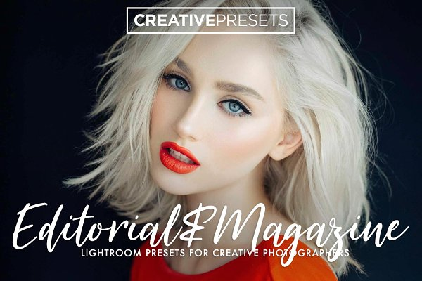 +Editorial Magazine Lightroom Prese…