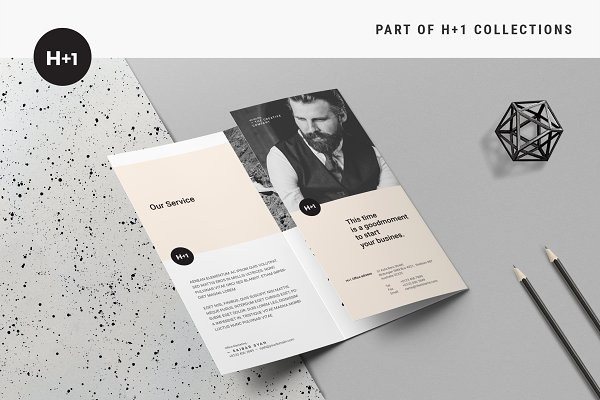 Brochure Templates Creative Market - Business brochures templates