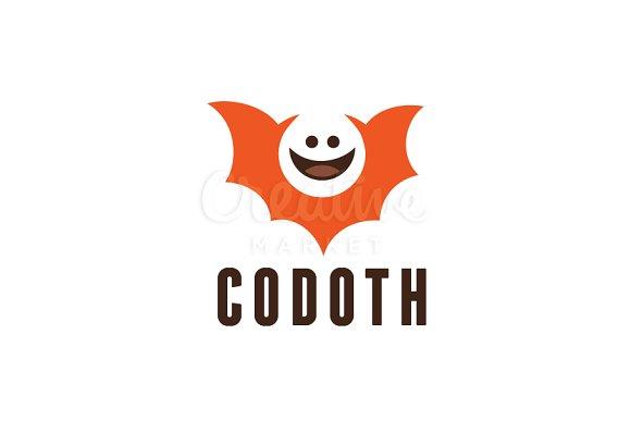 Bat Halloween Logo