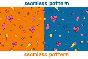 Cute seamless pattern!