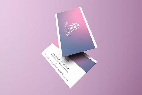Gradient Business Card