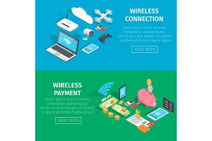 Wireless Connection and Payment Information Page