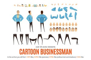 Cartoon Businessman Pack