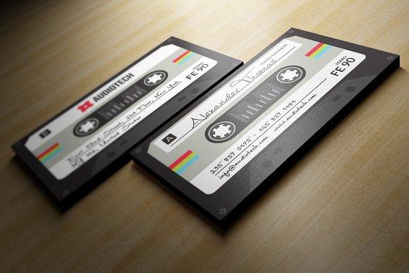 Cassette Tape Business Card