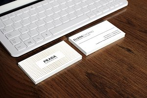 Minimal White Business Card