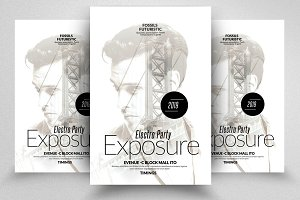 Double Exposure Electro Flyers