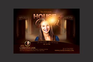 House of God Church Flyer