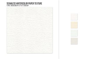 Seamless watercolor paper texture.