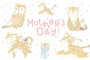 Mother's Day - leopard set