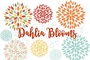 Blooming Blossom Vector Flowers