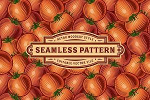 Seamless Tomato Pattern
