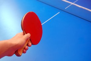 Table tennis (ping pong)
