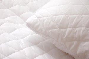 Soft white pillows