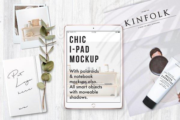 Chic Modern iPad Mockup