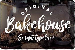 Bakehouse typeface