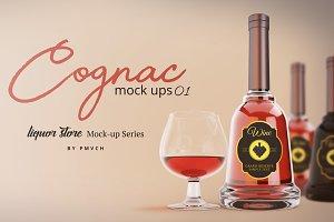 Cognac Mockup