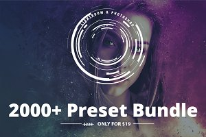 2000+ Lightroom Preset Bundle