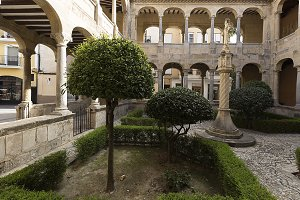 Cloister of the Cathedral of Orihuel