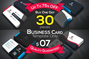 30 Business Cards Bundle