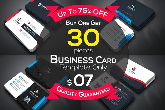 Business Cards 30 Bundle