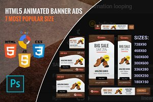 Stroia - shoping html5 banner ads