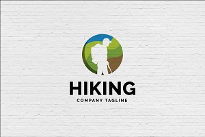 Mountain Hiking Logo