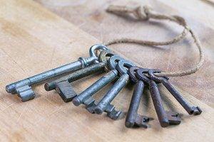 real vintage keys